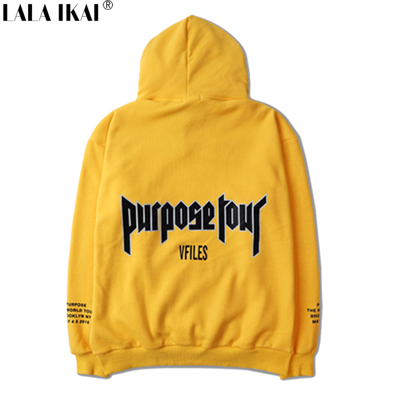 Purpose Tour Justin Bieber Hoodies Men Hooded Hip Hop Fear Of God Punk Cotton Sweatshirts Men Women Streetwear Brand SMR0468-4.9(China (Mainland))