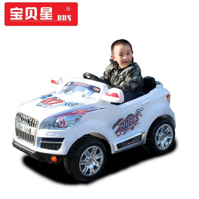 audi q7 voiture enfants jouet voiture de v lo lectrique t l commande auto pour enfant batterie. Black Bedroom Furniture Sets. Home Design Ideas