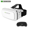 VR Headset Shinecon Pro 3D Glasses Virtual Reality helmet VR Box Google Cardboard Head Mount For