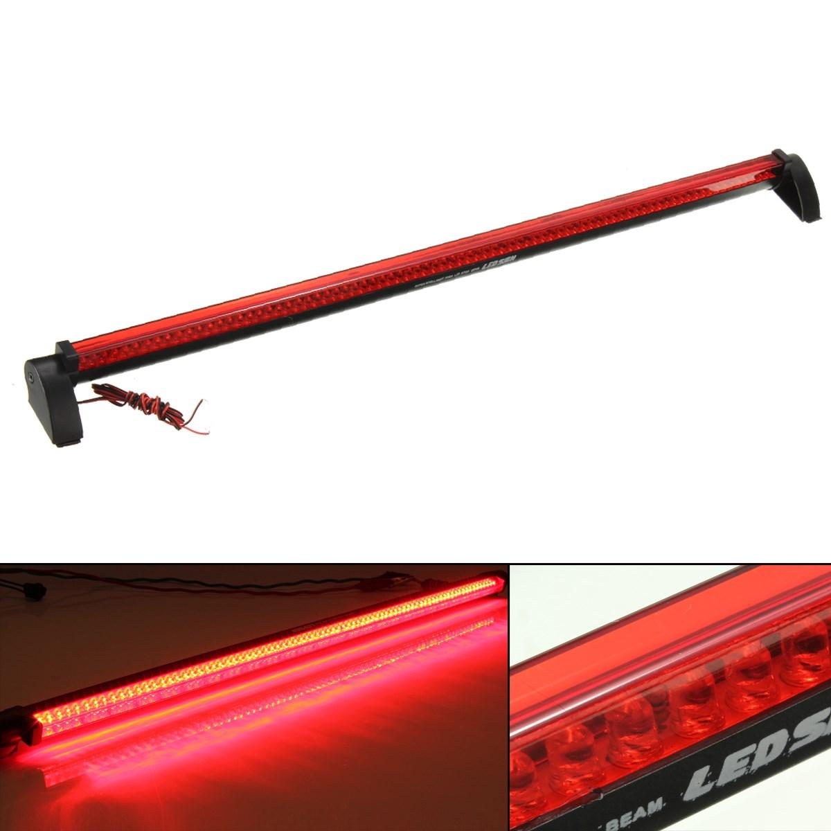 Universal Red 80 LED Car Third Brake Light Rear Tail Light High Mount Stop Lamp 12V(China (Mainland))
