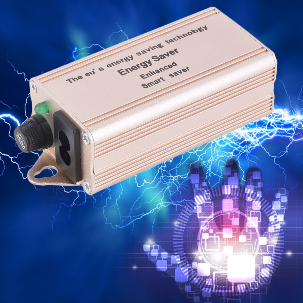 Smart Electricity Enhanced Saving Box Power 30%-40% Energy Saver + US Plug Power Accessories(China (Mainland))