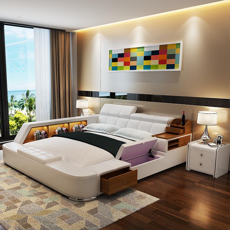 Muebles de cama de almacenamiento compra lotes baratos for Gabinete de almacenamiento dormitorio