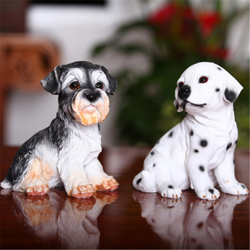 puppy balloon dog figurine resin statue American Pop art craft statues decoration cartoon