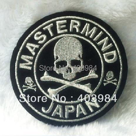 ~10 pcs/Lot Embroidered MASTERMIND JAPAN Iron Sew Patch Applique Badge - Mackie Wong's store