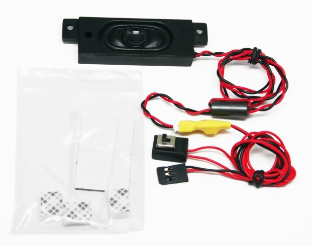 F05778 G.T.Power RC Car Police Sound System / Loudspeaker Model Car Parts Audio Accessories + FS(China (Mainland))