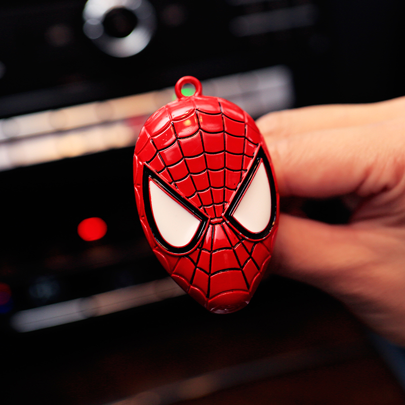 Spider Man Car outlet perfume original car-styling auto perfumes Fragrance Luxury Car Air Freshener Conditioning Vent Clip(China (Mainland))