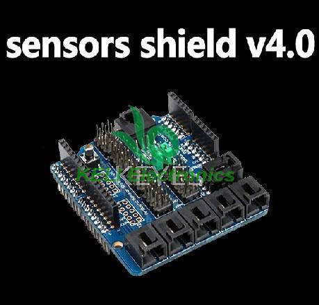10pcs/lot Новый Сенсор экрана v4.0 цифровой аналоговый модуль для Arduino Uno Мега 2560 платформ duemilanove микроконтроллеров AVR 100% новый ориги