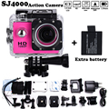 Add 2 x battery Mini Camcorder go hero pro style 1080p Full HD DVR SJ4000 Waterproof