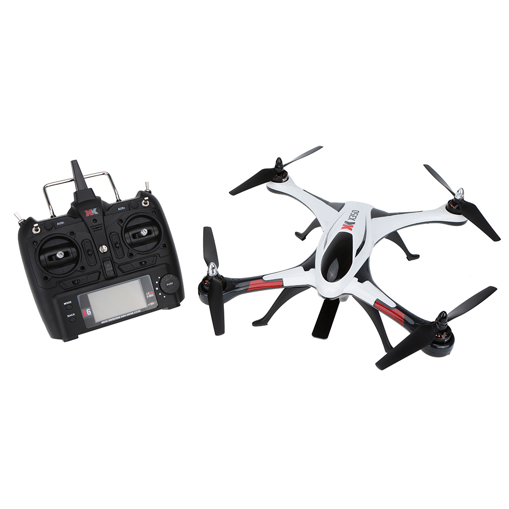 Wltoys STUNT XK X350 2.4GHz 4CH  6-Axis Gyro 3D 6G Mode RC Professional Drones Helicopter with Brushless Motor RTF Drop Ship<br>