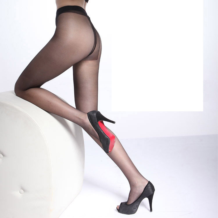 New Arrivals sexy skin women s Seamless T Tights Brown summer Thin Pantyhose black Female Slim