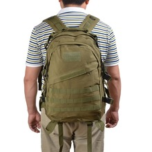 New Outdoor Tactical Backpack Men Women Camping Hiking Mountaineering Backpack Waterproof Camouflage Travel Bag army green(China (Mainland))