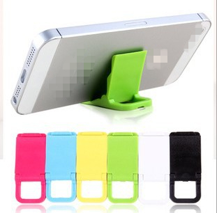2015 New mini phone stands Portable Adjustable cell phone holder For iPhone 4 5s universal Foldable mobile phone holder(China (Mainland))