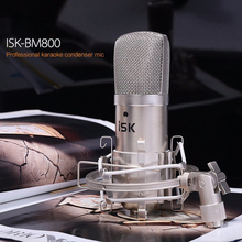 Hot Sale! ISK BM-800 condenser Microphone professional recording microphone music create broadcast and studio microphone(China (Mainland))