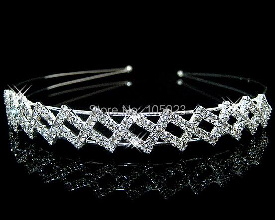 fashion crystal headband jewelry hair band elegant handcrafted shiny nice band(Hong Kong)