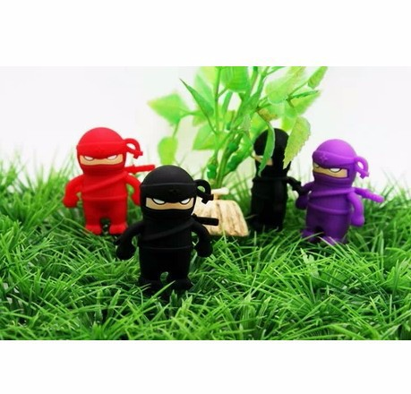 DHL delivery 512GB good quality creative personality cute Ninja usb flash drive/pendrive/flash memory(China (Mainland))