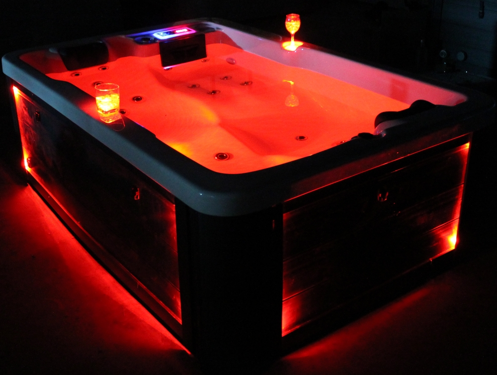 outdoor spas hot tubs massage led light in bathtubs