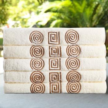 Полотенце 100% хлопок 30 * 50 см лица волосы вышивка полотенца пряжа мочалку сатин тканые обычная бесплатная доставка 2 стороны махровые