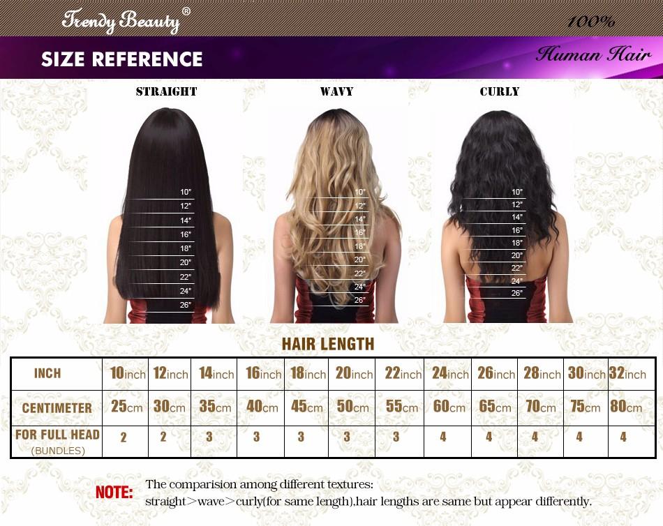 12 inch hair length straight