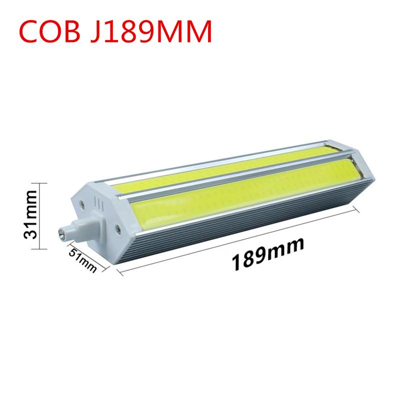 R7S COB Led Lamp Dimming Light SMD 10W 15W 20W 25W AC85V-265V Lampada Bulb J78MM J118MM J135MM J189MM replace halogen floodlight