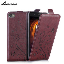 Filp Leather Case For Lenovo S90 Vertical Magnetic Case For Lenovo S90 S 90 s90-A 5.0'' Strike Embossing Cover Phone Bags & Case