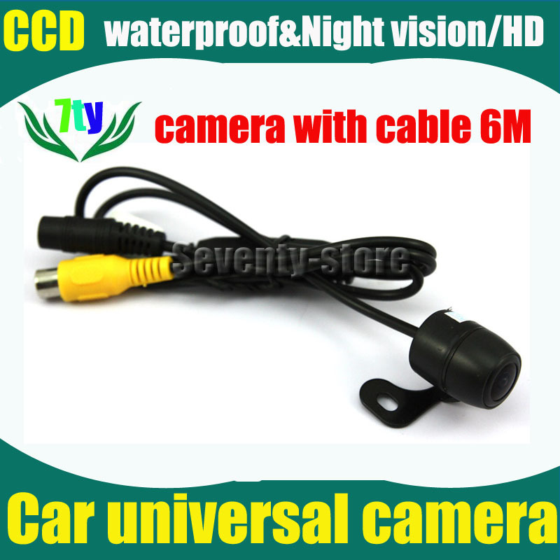 Universal 170 Degree Wide Viewing Angle Waterproof Parking Assistance System. Reverse Backup Car CCD Rear View Camera(China (Mainland))