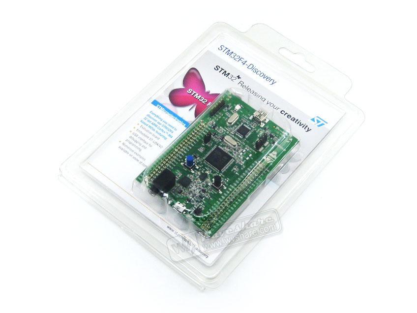 100% Original STM32 Discovery Board Stm32f4discovery Stm32f4 kit Cortex-m4 STM32 Development Board St-link v2<br><br>Aliexpress