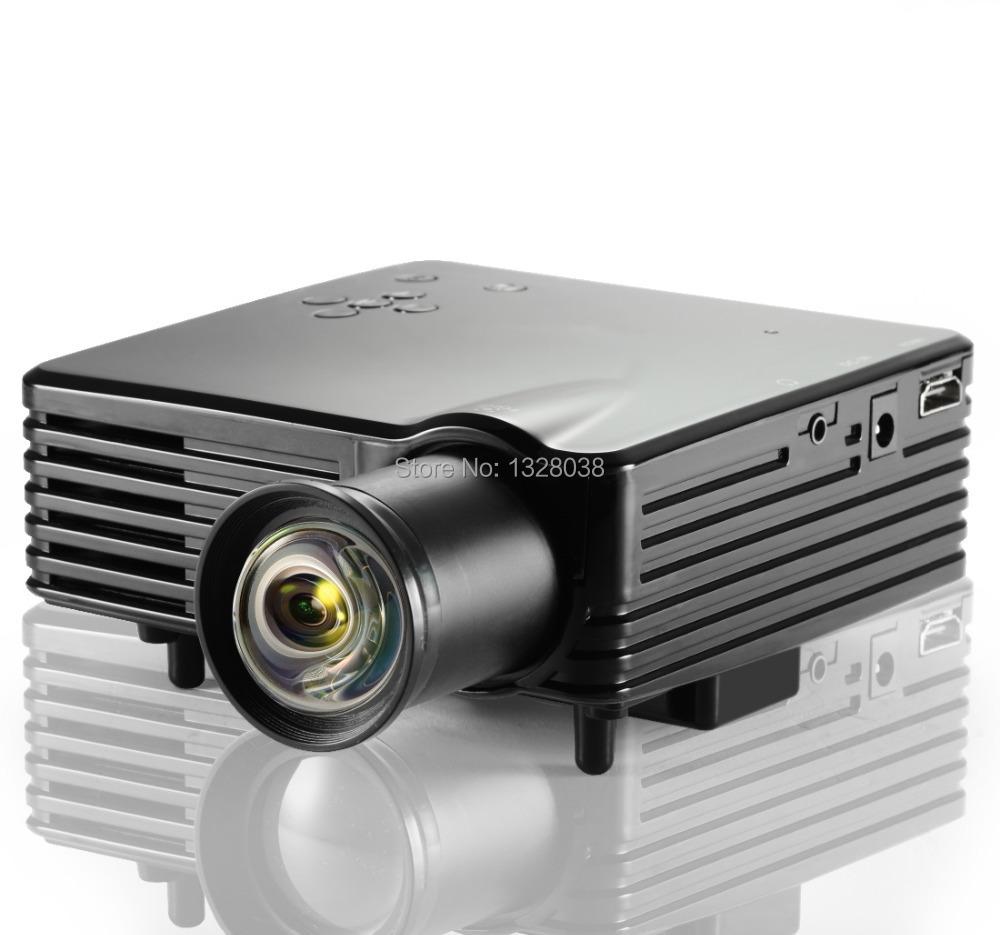 Original factory mini lcd pico projector 400 lumens for Best hd pico projector