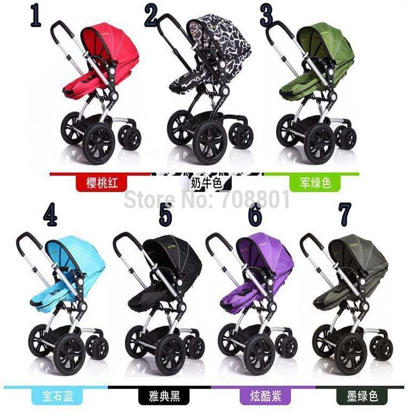 Wellbaby aluminum alloy baby stroller suspension light cart umbrella sleeping basket three-wheeled cart<br><br>Aliexpress