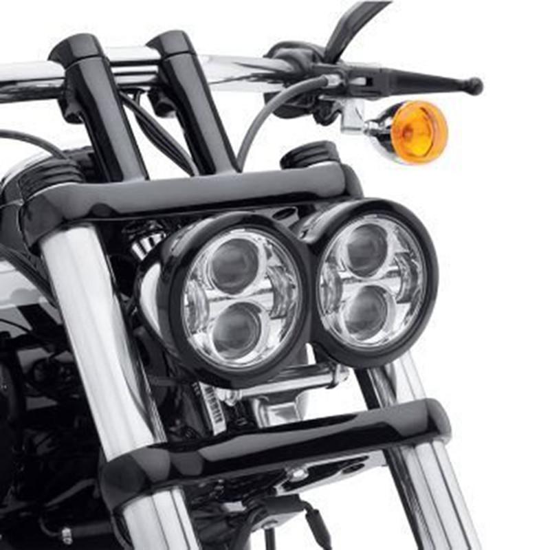 Купить Daymaker Harley 5 ''светодиодные фары СВЕТОДИОДНЫЕ Фары Fat Bob Головной Свет для Fat Bob Фар