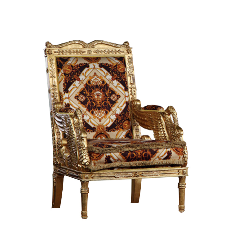 Wood Courtroom Chair Sale ~ European style wood carving full gilding armchair french