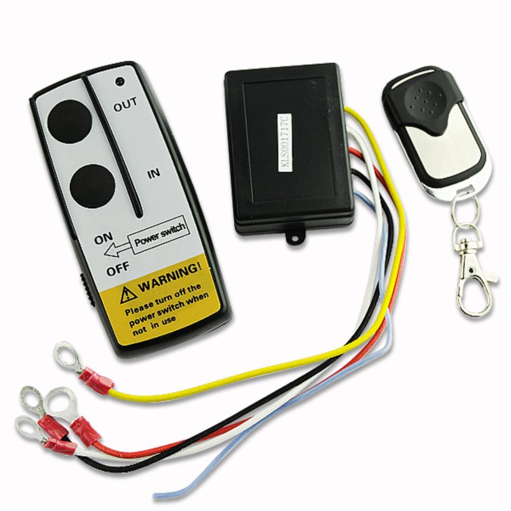 12v 12volt wireless winch remote control handset for truck suv atv winch projector Wireless remote control for auto winches 2016(China (Mainland))