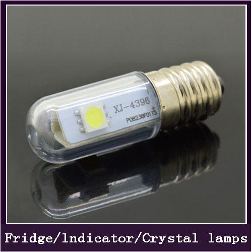 1x Mini E14 Lights LED Lamps 3014 SMD 1.5W 3W 5W 7W 9W Crystal Chandelier 220V Spotlight Corn Bulbs Pendant Refrigerator Light(China (Mainland))