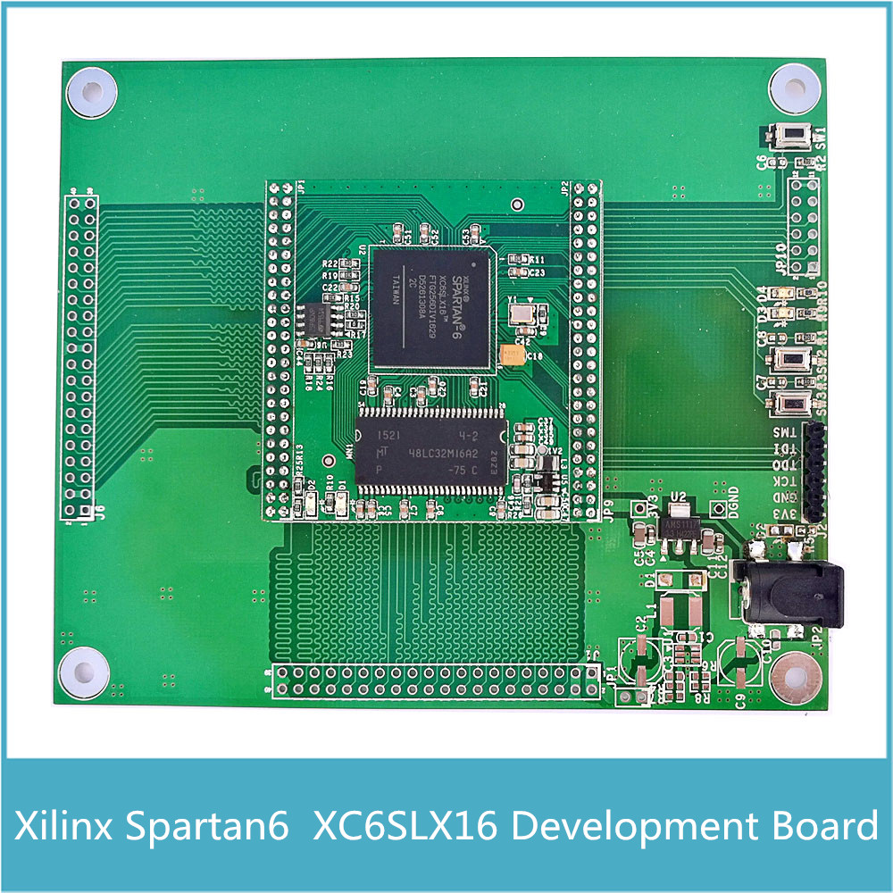 New XILINX FPGA Spartan6 Spartan-6 Development Board XC6SLX16 Core Board with 32MB SDRAM Micron MT48LC16M16A2(China (Mainland))