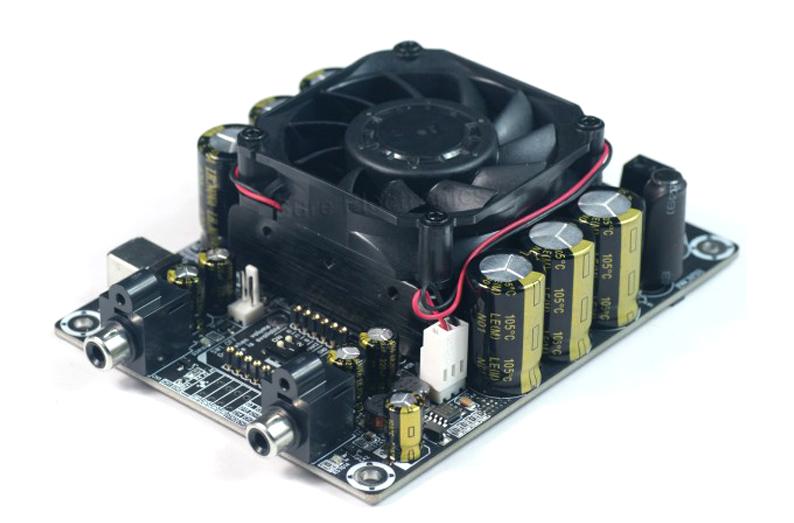 2 X 100 Watt 4 Ohm Class D Audio Amplifier Board - STA508 100W Stereo T-Amp(China (Mainland))