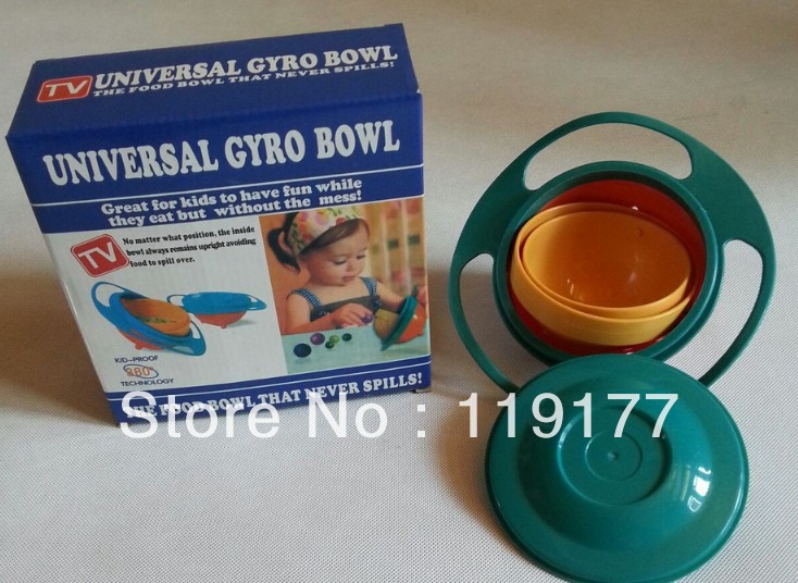 Gravity Bowl food condiments picture - more detailed picture about 1pcs baby