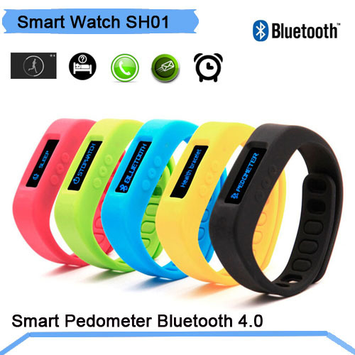 OEM Tracker Bluetooth 4.0 Smartband /ios Samsung Android PK Fitbit SH01