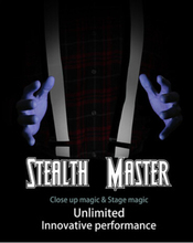 Stealth Master - Close up magic & stage magic Unlimited Innovative Performance,illusions,card tricks novelties party/jokes(China (Mainland))