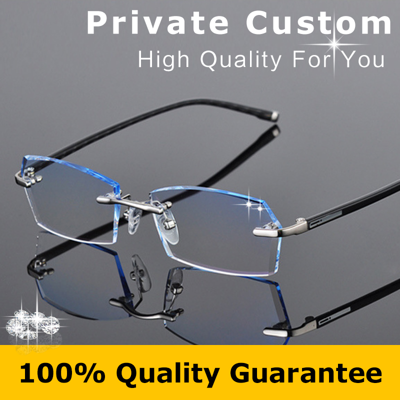 Rimless Glasses With High Prescription : Online Buy Wholesale prescription glasses online from ...