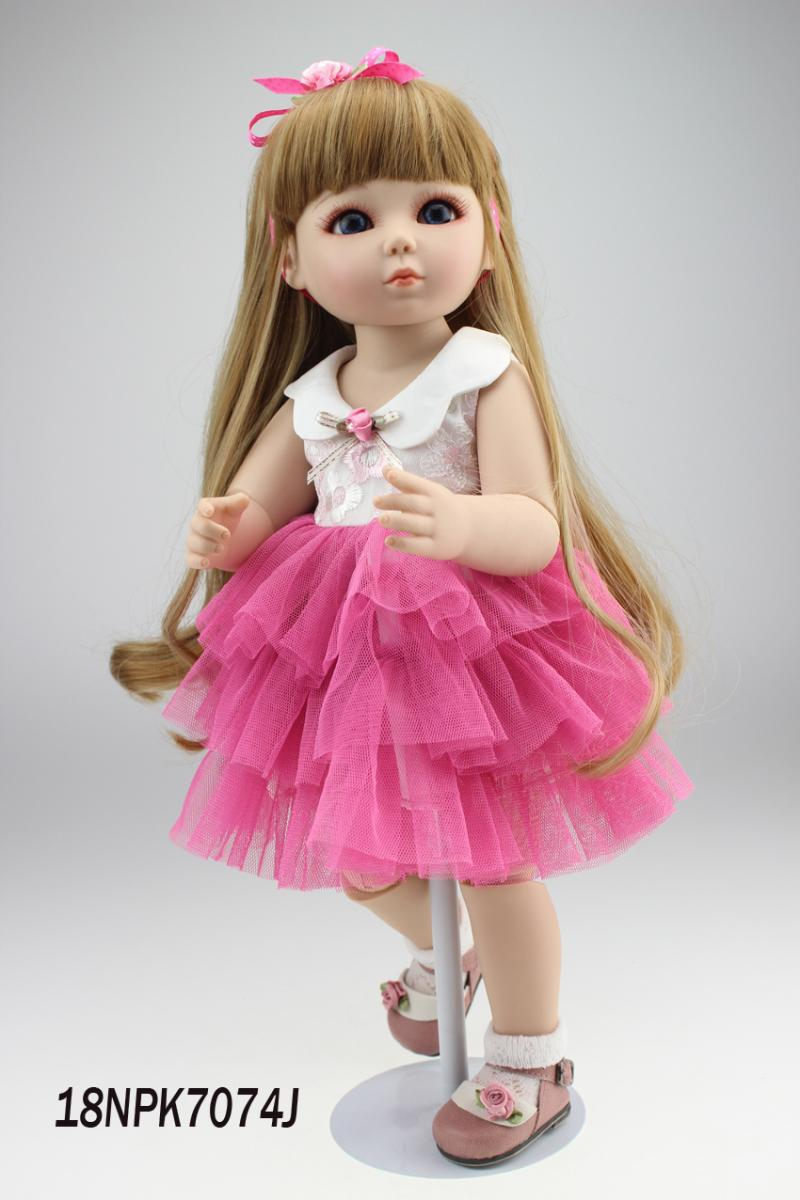18inch 45cm Reborn Baby Doll Ball Jointed Doll Bjd Hard