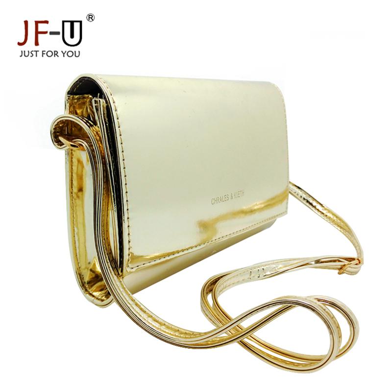 Fashion Shoulder Bag Female 2016 Silver Bag Gold Black Bags Women Crossbody Messenger Solid Bags High Quality bolsas feminina(China (Mainland))