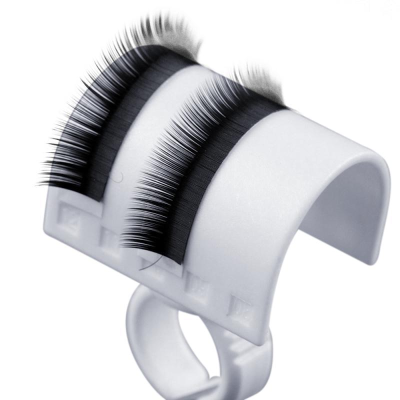 2 PCS Women Lady Girl Eyelash Extension Kit Lash Tray Lash Strip Pallet Ring Eyelash Separator Eyelash Extension Tool(China (Mainland))