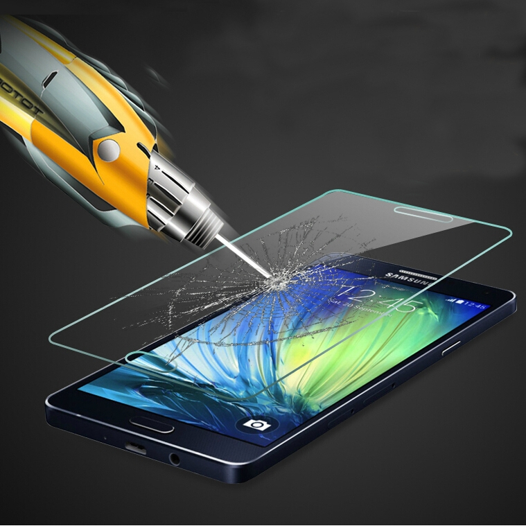 0.33mm Ultra Thin HD Clear Explosion-proof Tempered Glass Screen Protector For Samsung Galaxy A5 A5000 A500F Clear Guard Film(China (Mainland))