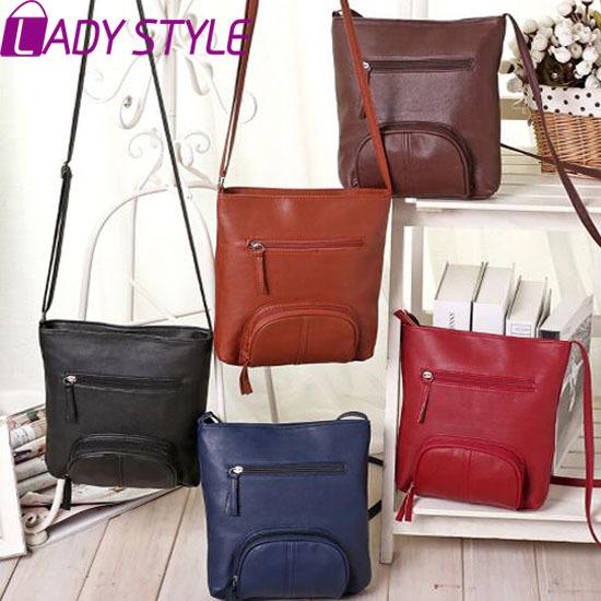 Lady Style! 2015 Fashion Womens Messenger Bags PU Leather Satchel Shoulder Crossbody Bags For Women Handbag Women Bag 6683*(China (Mainland))