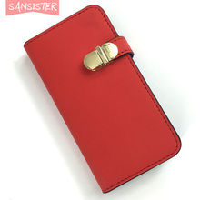 pocket mirror case for iphone 6 for makeup party club not need shy girl bag shy guy walletcase for girlfriend christmas red gift(China (Mainland))