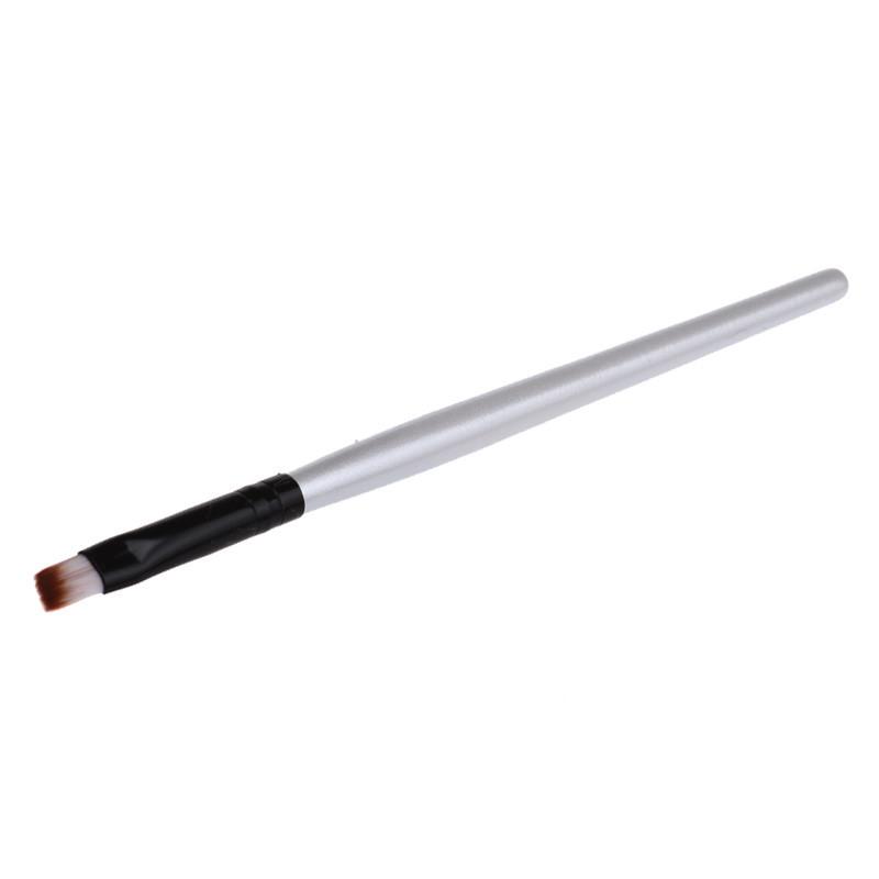 Elegante 2016 Hot 1 pcs Mulheres Profissional Escova De Fibra Artificial cílios Individuais Maquiagem Sobrancelha Escova senhora ferramenta de Cosméticos