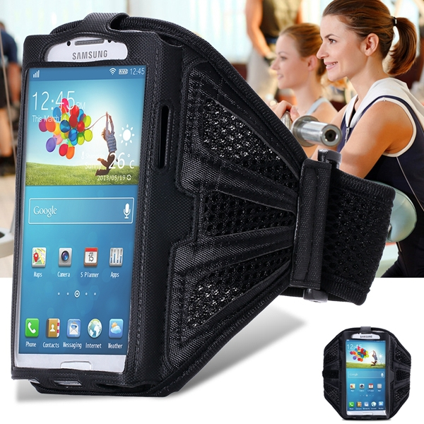 Classic Black! Breath Hole Gym Exercise Sport Armband For Samsung Galaxy S6 S4 S5 S3 With Safe Buckle Running Phone Accessories(China (Mainland))