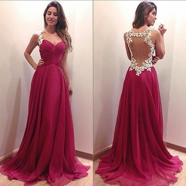 Вечернее платье Vestido longo 2015 v vestido de festa