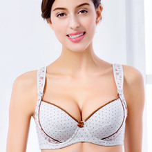 Buy Cotton Breast Feeding Maternity Bra Nursing Bras Feeding Pregnant Women Flower Underwear Wire Anti Sagging Gravidas for $10.13 in AliExpress store
