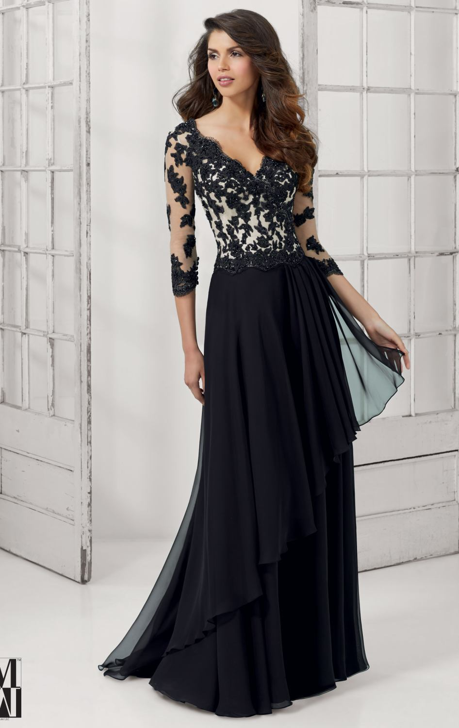 Beautiful Ladies Evening Dresses With Sleeves  Style Jeans
