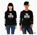 bts kpop BTS Bangtan Boys SUGA same section round neck Concerts surrounding black and white terry